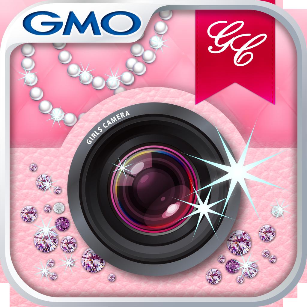 GirlsCamera:簡単に写メをプリクラ系に顔デコれて背景や写真の切り抜きも可能なカワイイ編集系カメラアプリ